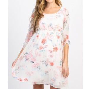 Floral Maternity Dress